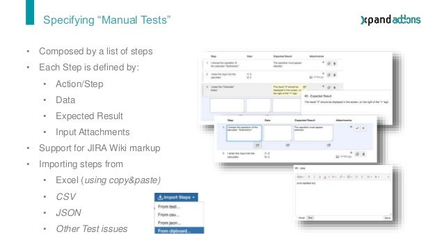 Specifying Test Cases 6