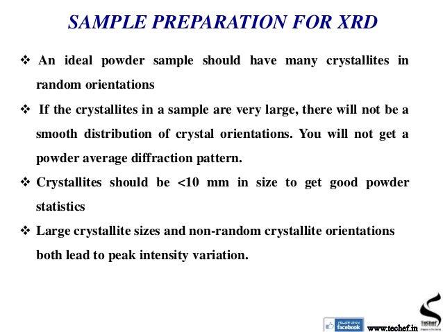 XRD principle and application