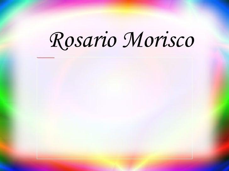 Rosario Morisco
