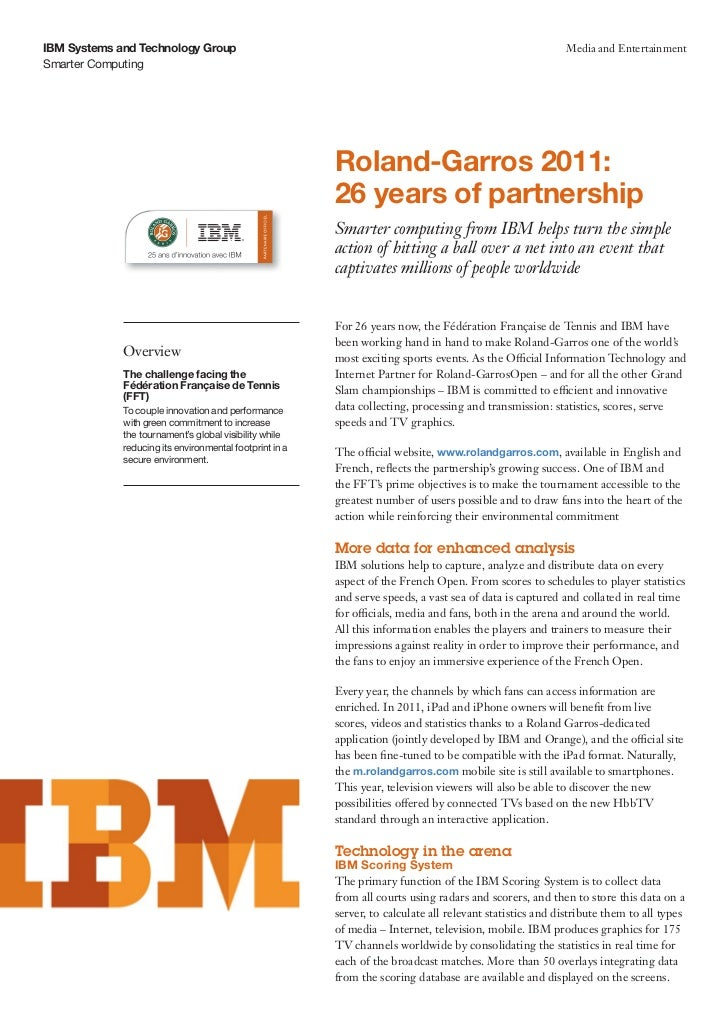 IBM Systems and Technology Group                                                                           Media and Enter...