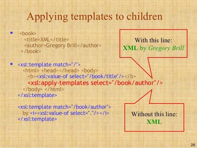 apply templates