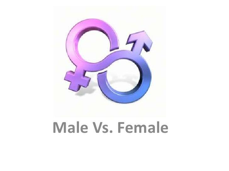 Male Female Body Comparison