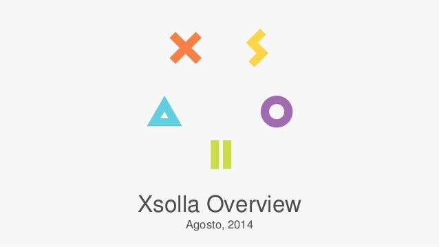 Xsolla Overview  Agosto, 2014