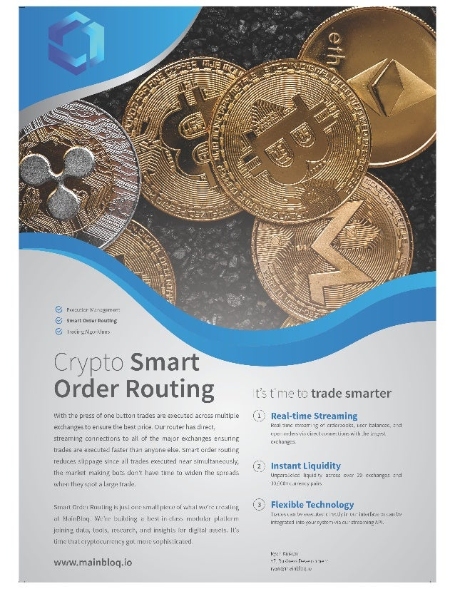 xSOR Streaming Smart Order Router for Instant Global Cryptocurrency Liquidity