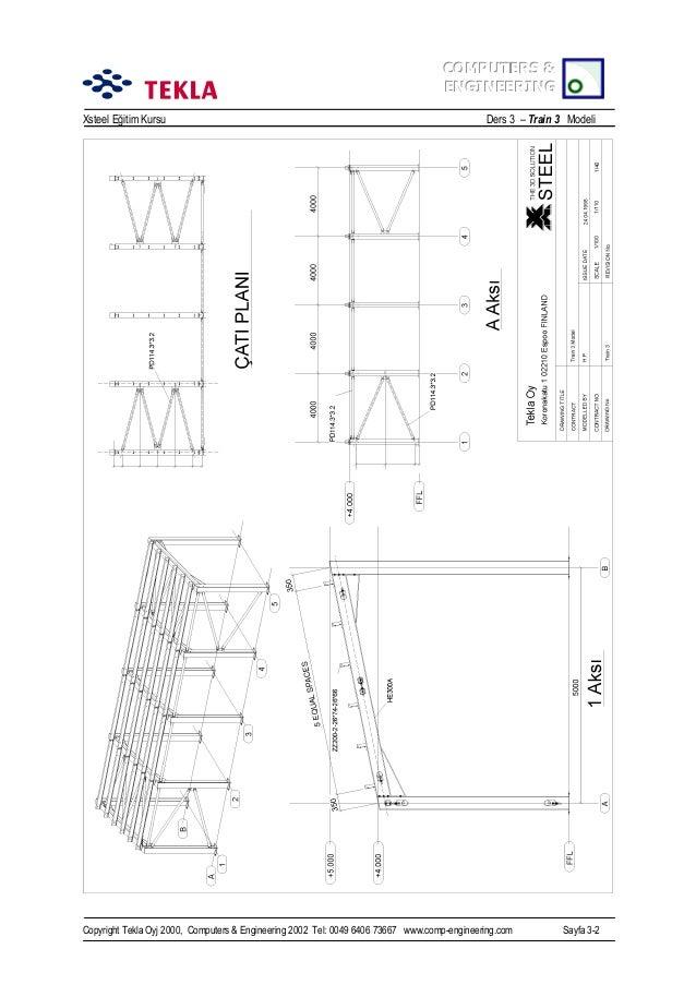 Örneklerle Tekla Structures (XSTEEL)