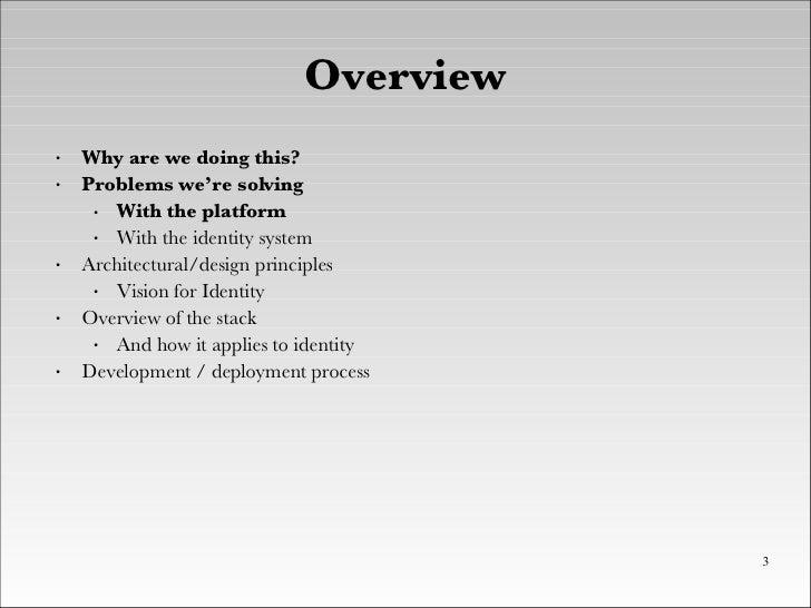 XTech 2008 - BBC Tech Refresh and Identity - Brendan Quinn And Ben Smith Slide 3