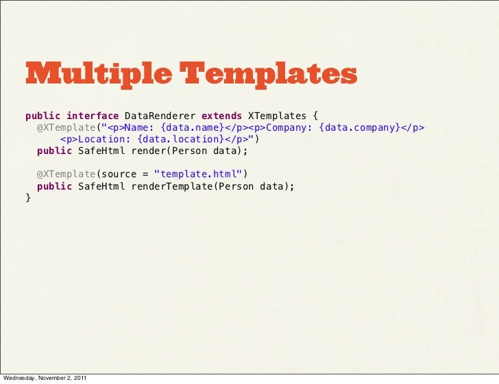 Ext GWT 3 0 Advanced Templates