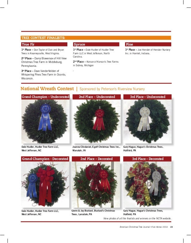 Fall/Winter 2014 American Christmas Tree Journal