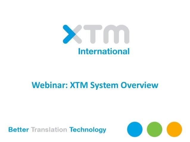 xtm webinar presentation xtm system overview rh slideshare net XTM XST Truggy WatchGuard XTM