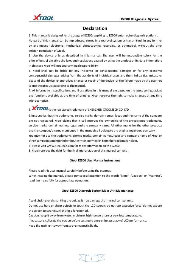 xtool ez500 full system user manual