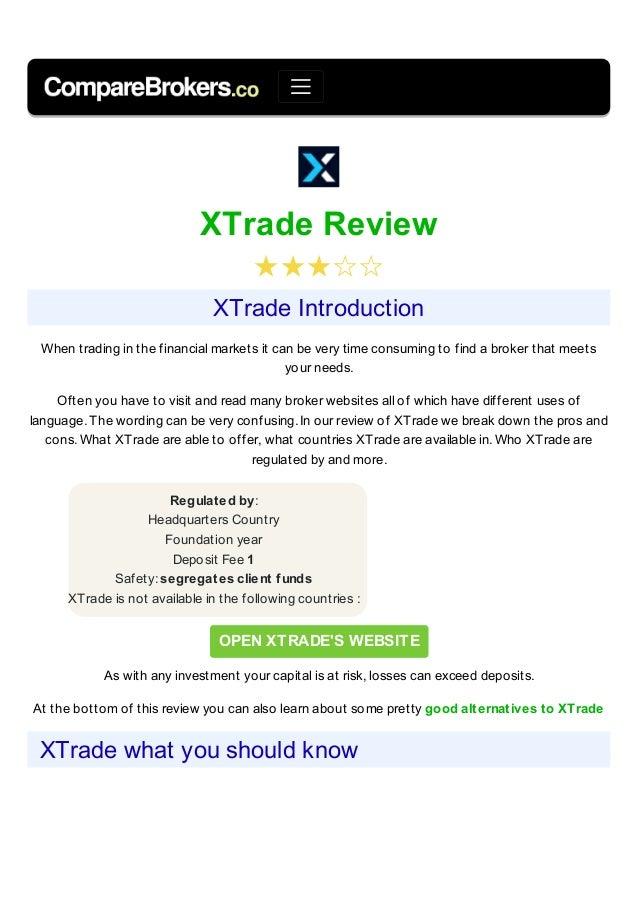 xtrade.com esittely