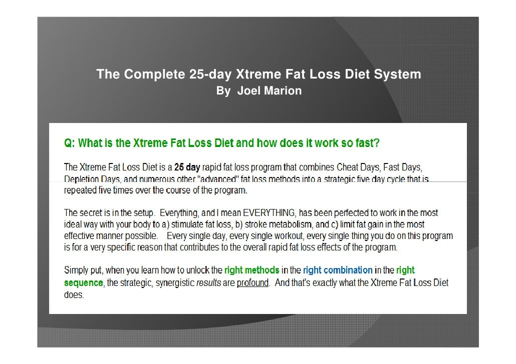 5 day fat loss accelerator