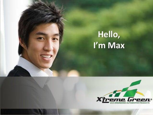 Hello, I'm Max