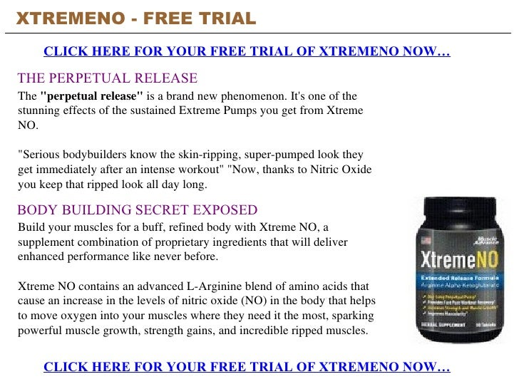 Xtremeno Free Trial