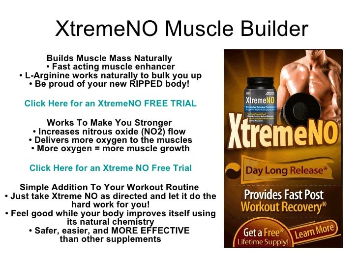 Xtreme No Muscle Builder Dont Buy Xtreme No Claim Your Xtreme No