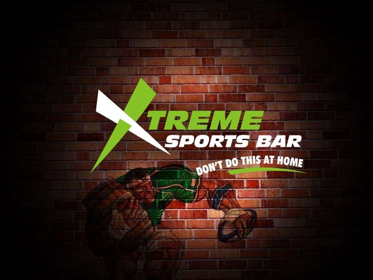 WelcomeXtreme Sports Bar is India's largest chain of world-classsports bars featuring a large variety of sports andsportin...