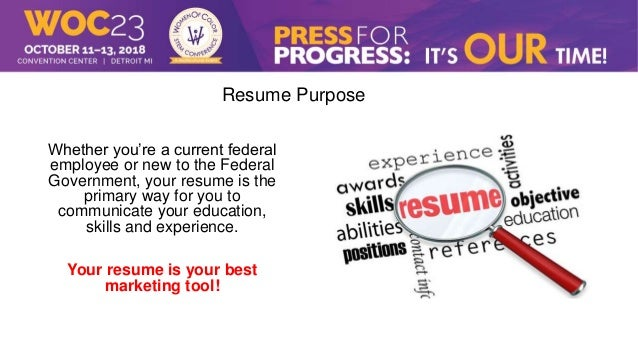 4 role of resume