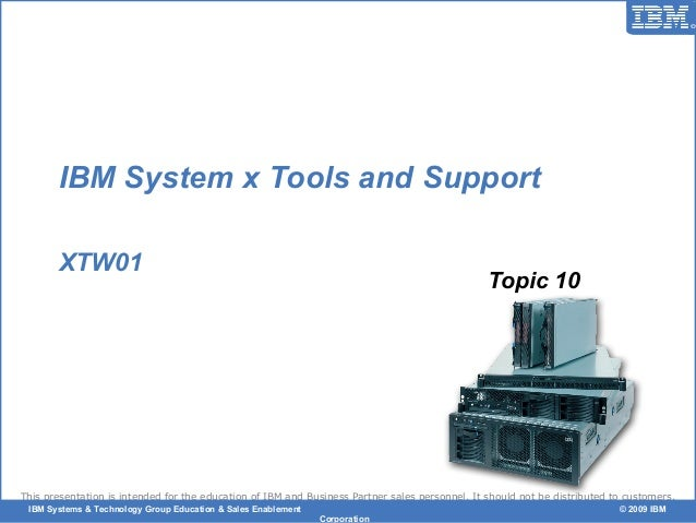 © 2006 IBM Corporation This presentation is intended for the education of IBM and Business Partner sales personnel. It sho...