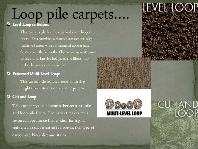 Types Of Carpets 1