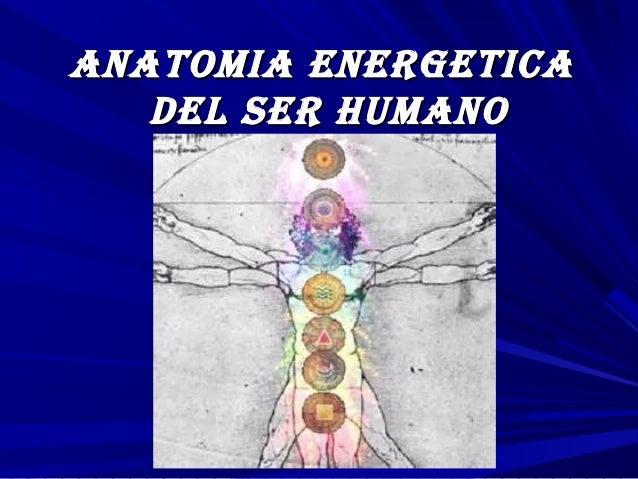 AnAtomiA energeticAAnAtomiA energeticA del ser humAnodel ser humAno