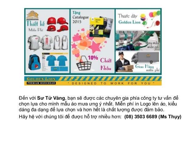 Xưởng may áo mưa quảng cáo tốt nhất tại HCM Slide 3