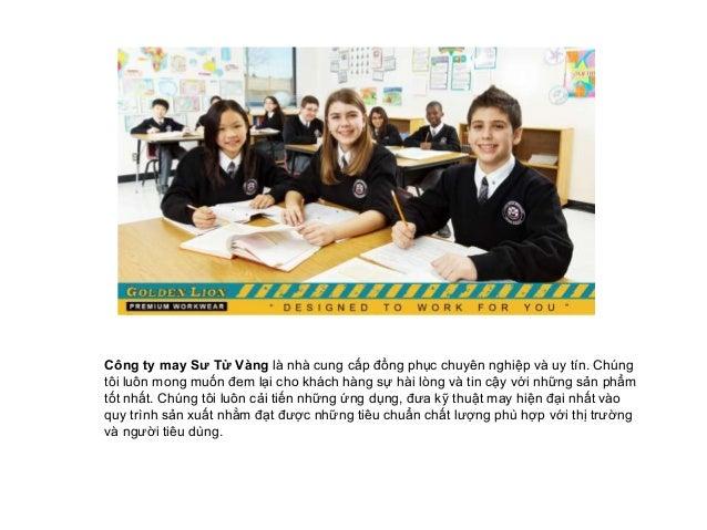 Xưởng may đồng phục học sinh uy tín và chất lượng Slide 2