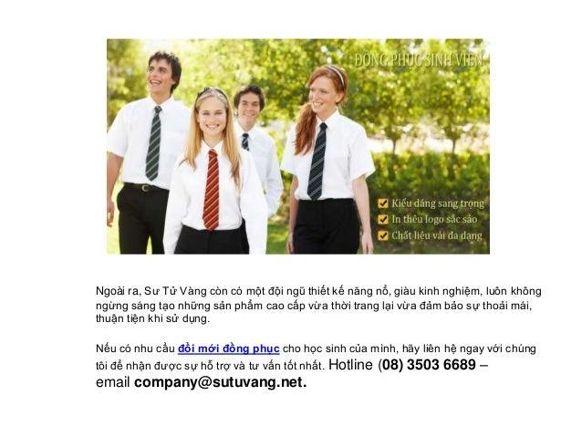 Xưởng may đồng phục học sinh uy tín và chất lượng Slide 3