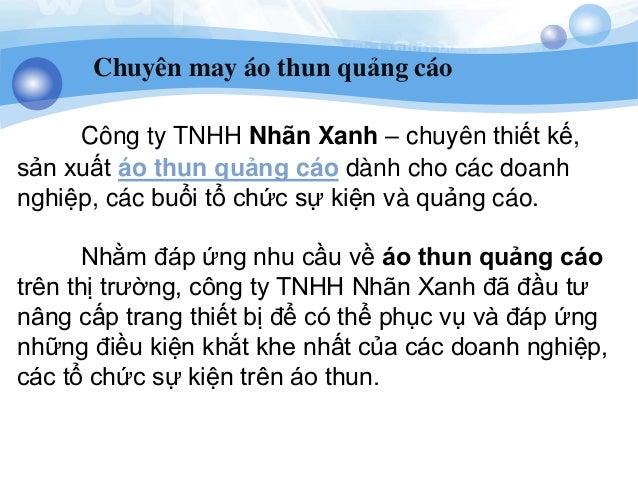 Xuong may ao thun dong phuc chat luong cao gia re Slide 3
