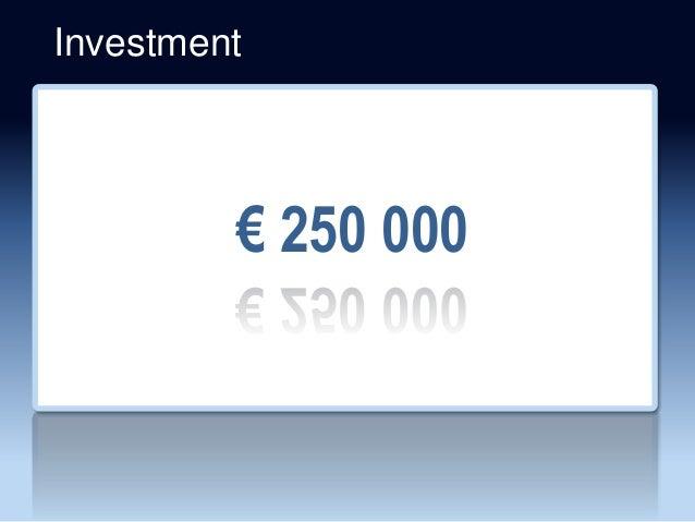 Investment € 250 000