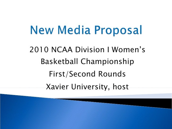 2010 NCAA Division I Women's Basketball Championship First/Second Rounds Xavier University, host