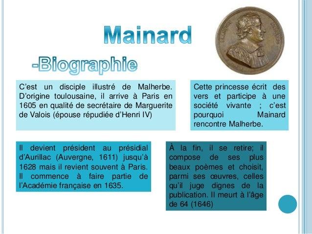 C'est un disciple illustré de Malherbe. D'origine toulousaine, il arrive à Paris en 1605 en qualité de secrétaire de Margu...