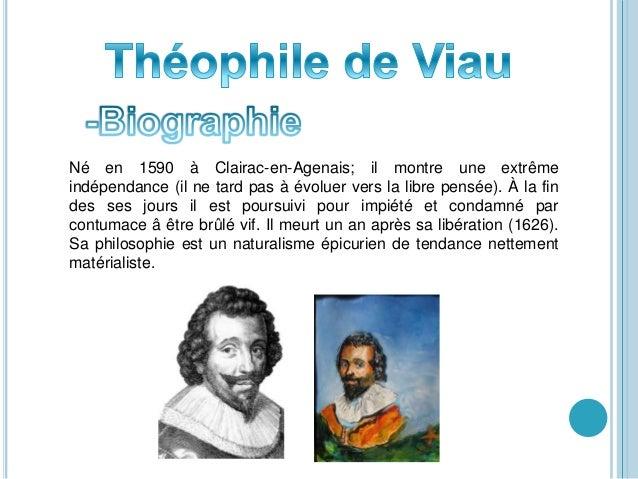 Né en 1590 à Clairac-en-Agenais; il montre une extrême indépendance (il ne tard pas à évoluer vers la libre pensée). À la ...
