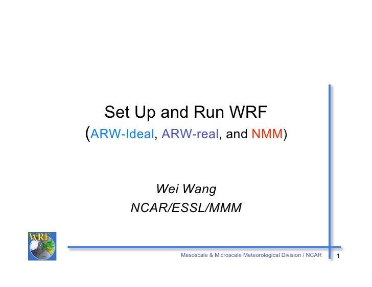 Xvii samet   dr. yoshihiro yamazake [mini-curso 6ª -feira] 4 wrf-setup_run_apres4