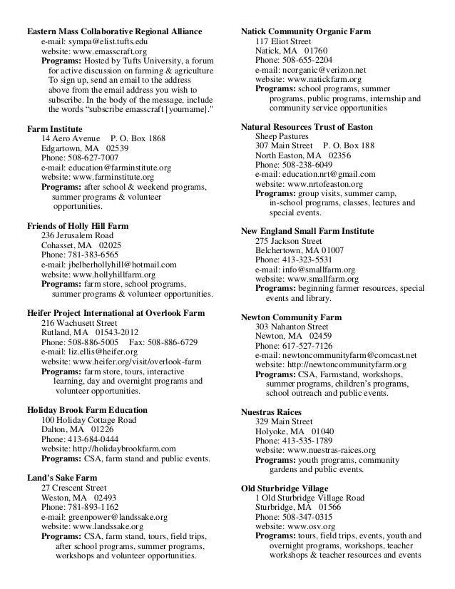 School Gardening Guide Massachusetts Garden Based
