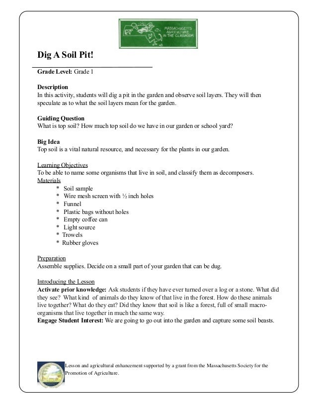 Lesson Plan On Natural Resources For Grade