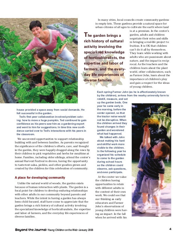 Childhood in the garden a place to encounter natural and for Garden rooms rocal