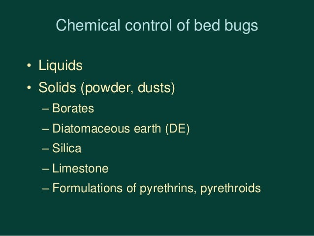 Diatomaceous Earth Bed Bugs Efficacy