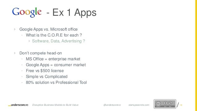 Proprietary and ConfidentialProprietary and Confidential  Google Apps vs. Microsoft office • What is the C.O.R.E for each...