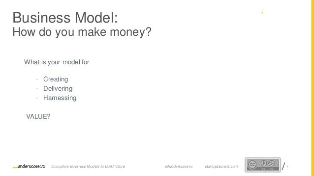 Proprietary and ConfidentialProprietary and Confidential What is your model for • Creating • Delivering • Harnessing VALUE...