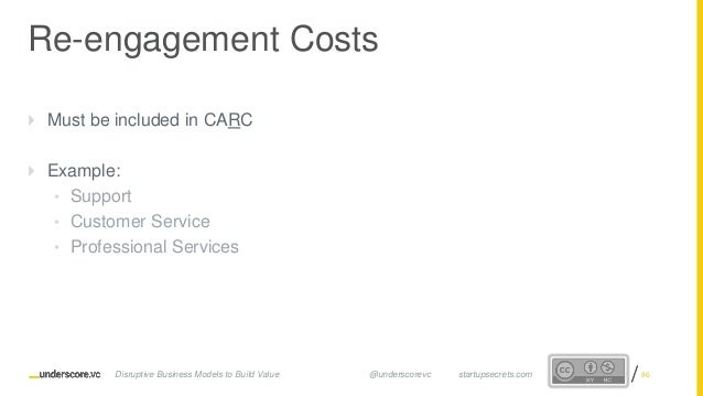 Proprietary and ConfidentialProprietary and Confidential Re-engagement Costs  Must be included in CARC  Example: • Suppo...