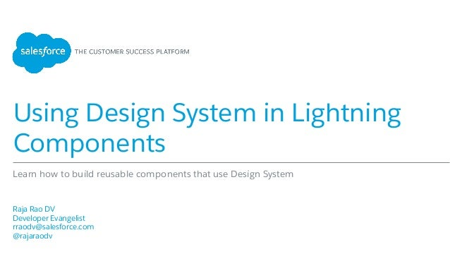 Using Design System in Lightning Components