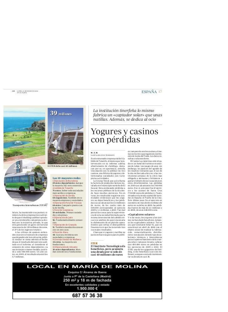 ABC   LUNES, 23 DE ENERO DE 2012      abc.es/españa                                                                       ...
