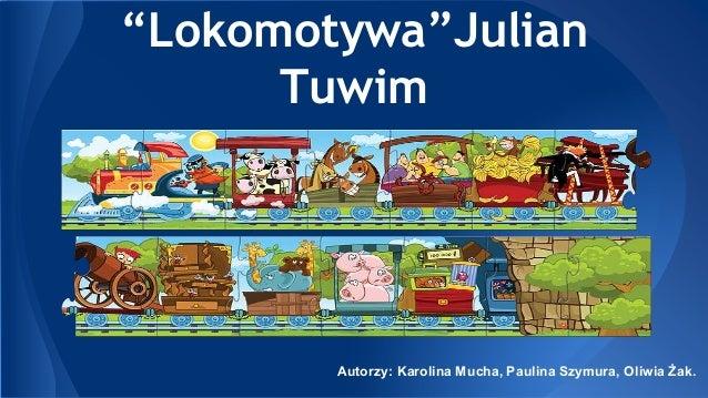 Lokomotywa Julian Tuwim