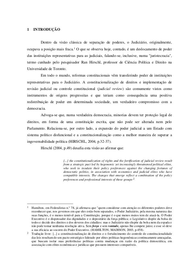 """hegemonic preservation thesis The hegemonic preservation thesis: """"conscious judicial empowerment is likely to occur (a) when the judiciary's public reputation for political impartiality and rectitude is relatively high and (b) when the courts are likely."""