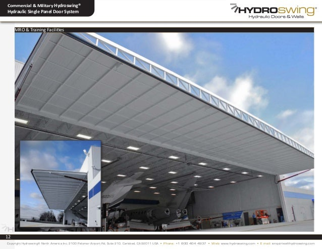 ... enquiries@hydroswing.com; 12.  sc 1 st  SlideShare & Hydroswing Commercial u0026 Military Aviation XXL Hangar Door Systems pezcame.com