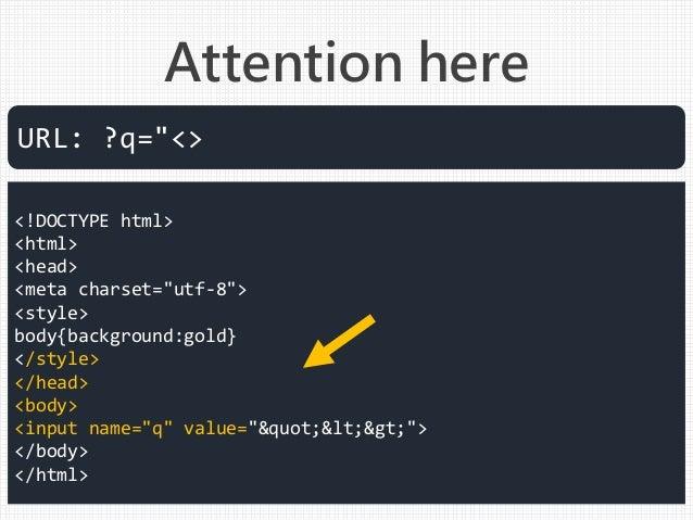 "<!DOCTYPE html> <html> <head> <meta charset=""utf-8""> <style> body{background:gold} </style> </head> <body> <input name=""q""..."