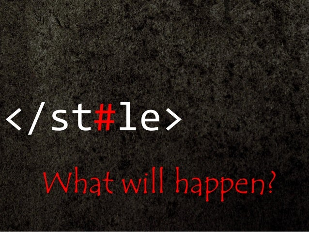 </st#le> What will happen?