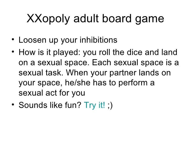 Sexual games to play with partner