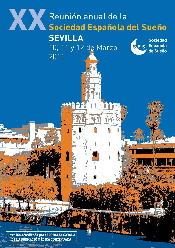 XX                      Reunión anual de la                        Sociedad Española del Sueño                        SEVI...