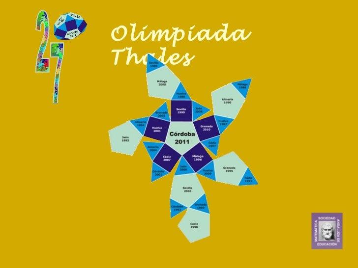 Olimpiada Thales